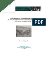 Forjar y Forzar Identidades Nacionales. El Reclutamiento Militar Durante La Guerra Del Pacífico en El Mundo Rural