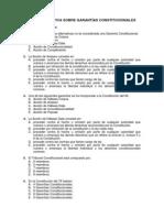 Prueba Objetiva Sobre Garantías Constitucionales