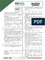 Adicional Aptitud Verbal N° 5 al 8. (3.2)