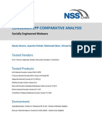 Consumer EPP Comparative Analysis - Socially Engineered Malware