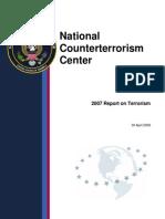 NCTC 2007 Report on Terrorism