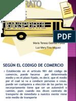 Contrato de Transporte Exposicion