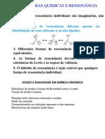 Acido Base Ressonancia
