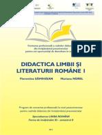 Florentina Samihaian Didactica Limbii Si Literaturii Romane 1