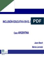 29 Jason Beech (Argentina)