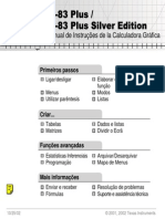 Manual TI-83 (Portugues)