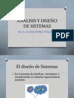 Analisis y Diseño de Sistemas 1