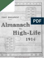 Almanah Roumaine 1914