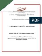 Libro de Deontologia-Vi Ciclo-nazareth