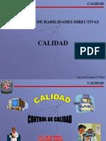 Calidad, Joel Esquivel Villar, 2007-1