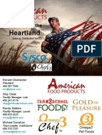 American Food Products - Sysco