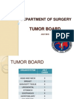 Tumor Board July 2013