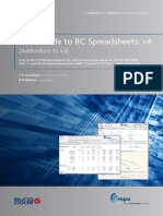 Concrete Centre Spreadsheet User Guides