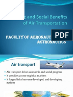 Economic and Social Benefits of Air Transportation