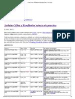 Duracion Arduino y Xbee Con Bateria