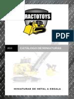 Catálogo 2013 - Miniaturas a Escala
