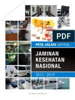 Peta Jalan Jaminan Kesehatan Nasional 2012 - 2019