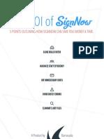 Sign Now Roi