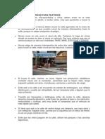 Medidas de Seguridad Para Peatones y Vehículos