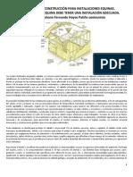 Par_metros de Construcci_n Para Instalaciones Equinas