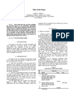 2013 IEEE Template
