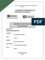 Informe Final Kevin Pantoja Castillo