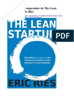 33 Claves Para Emprender de the Lean Startup