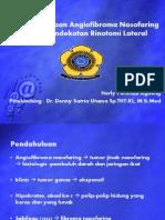 Penatalaksanaan Angiofibroma Nasofaring Dengan Pendekatan Rinotomi Lateral