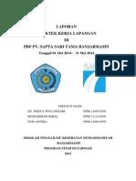 laporan pkl PBF sapta sari tama BJM