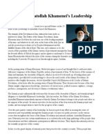 25 Years of Ayatollah Khamenei's Leadership