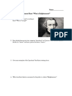 2 what is enlightenment immanuel kant