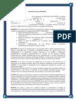 Contrato de Auditoría