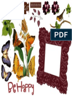Print Out Nature Theme Scrapbook