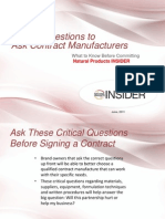10 Questions to Ask Contract Manufacturers