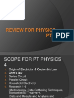 Reviewer for Physics Pt4