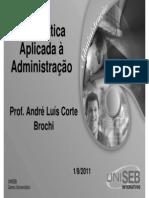 2.1 Slides Unidade 6 – Matemática Aplicada à Administração - Aula 01 09 11