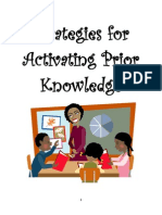 Strategies for Activating Prior Knowledge
