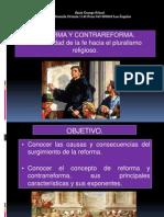 Reforma y Contrarreforma