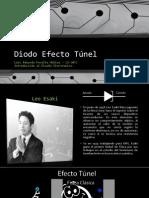 Diodo Efecto Túnel