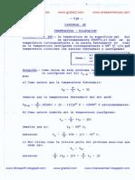 Temperatura - Dilatacion - Ejercicios Resueltos