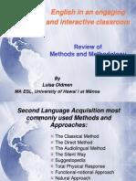Methods and Methodology