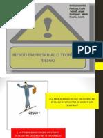 Presentacion Equipo No. 4. Riesgo Empresarial o Teoria Del Riesgo 06-06-2014