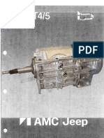 T4 & T5 AMC Trans Rebuild Manual