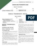 NSG370 MANUAL TRANSMISSION