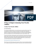 8 Ways to Begin Awakening Your Psychic Abilities