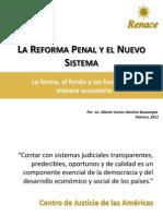 La Reforma Penal y El Nuevo Sistema-RENACE