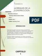 Lenguaje II - Materiales de Construccion