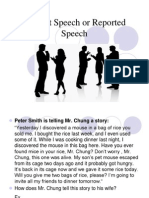 Indirect Speech or Reported Speech 2