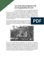 Foundation of the International Civil Aviation Organization