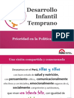 Desarrollo Infantil Temprano Prioridad Política